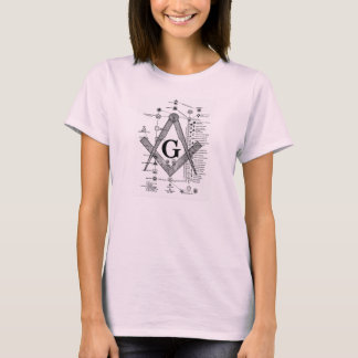 Chart of Masonic Degrees T-Shirt