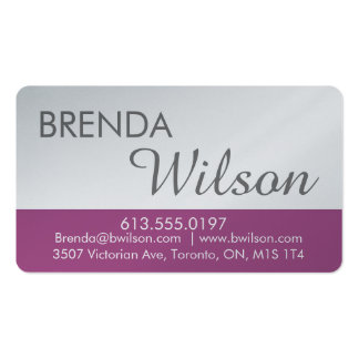 Chart of personalized business - reason business card