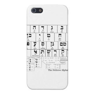Chart of the Alphabet in the Hebrew Language Case For iPhone SE/5/5s