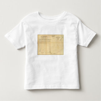Chart of the Antarctic Continent Toddler T-shirt