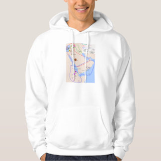 Chart of the Distribution of Semitic Languages Hoodie
