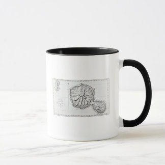 Chart of the Island Otaheite, 1769 Mug