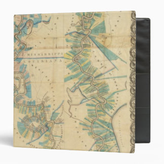 Chart of The Lower Mississippi River 3 Ring Binder