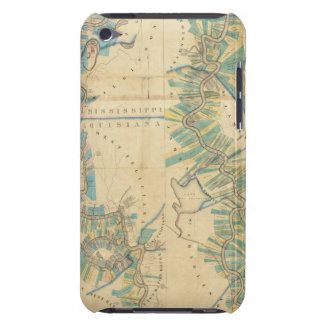 Chart of The Lower Mississippi River Case-Mate iPod Touch Case