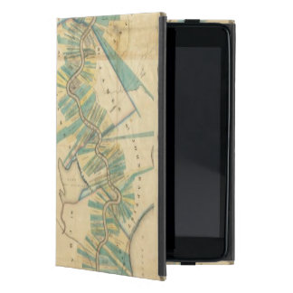Chart of The Lower Mississippi River iPad Mini Covers
