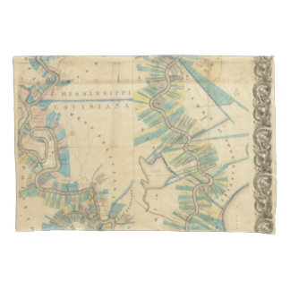 Chart of The Lower Mississippi River Pillowcase