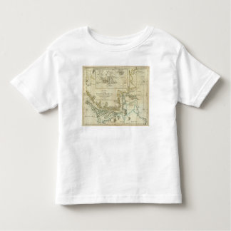 Chart Of The Straits Of Magellan Toddler T-shirt