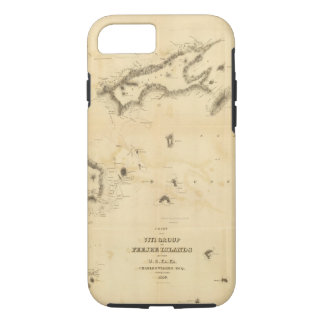 Chart of the Viti Group or Fiji Islands iPhone 7 Case