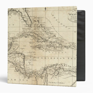 Chart of the West Indies 2 3 Ring Binders