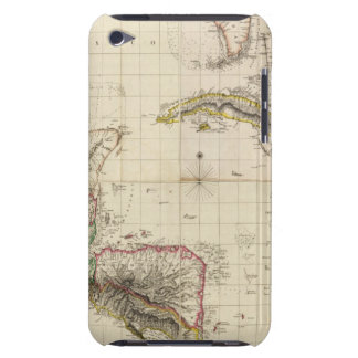Chart of The West Indies and Spanish Dominions iPod Touch Cover