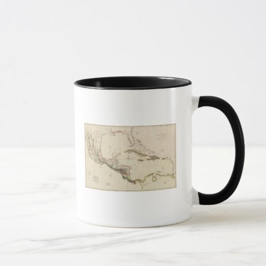 Chart of The West Indies and Spanish Dominions Mug