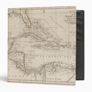 Chart of the West Indies Binder