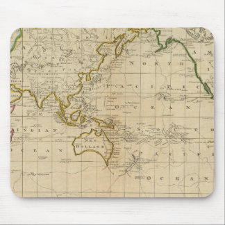 Chart of the World Mousepads