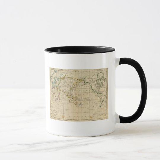 Chart of the World Mug