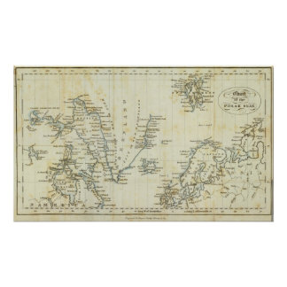 Chart, Polar Seas Poster