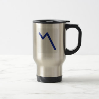 Chart statistics icon mugs