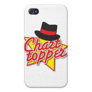 CHART Topper rockabilly design iPhone 4/4S Case
