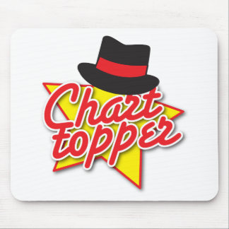 CHART Topper rockabilly design Mouse Pad