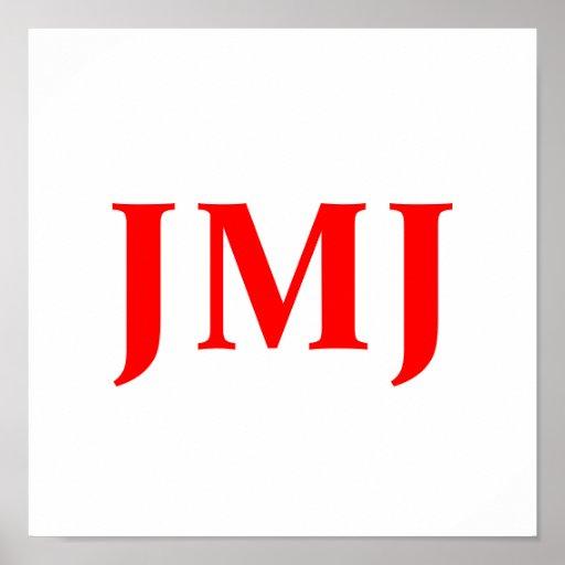 Charta de JMJ Posters