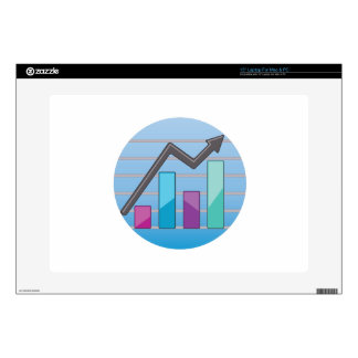 Charted Graph Laptop Skin