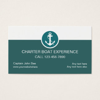 boat anchor business cards templates zazzle