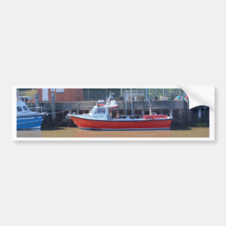 Charter Boat High Flyer Car Bumper Sticker