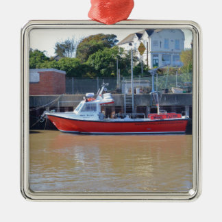 Charter Boat High Flyer Metal Ornament