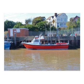 Charter Boat High Flyer Postcard