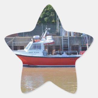 Charter Boat High Flyer Star Sticker