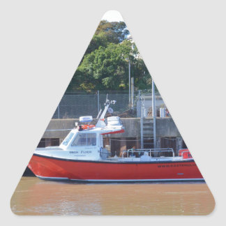 Charter Boat High Flyer Triangle Sticker