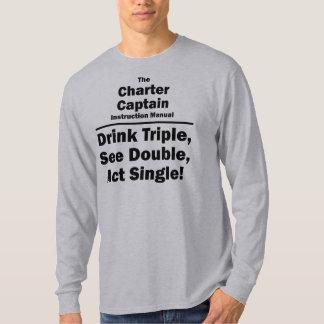 charter captain T-Shirt