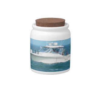 Charter Fishing Boat Candy Dishes