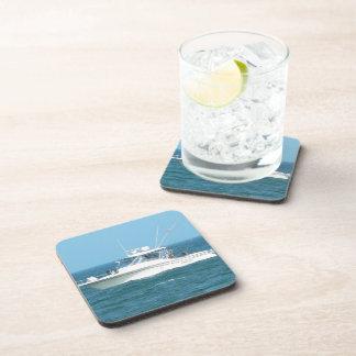 Charter Fishing Boat Beverage Coaster