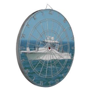 Charter Fishing Boat Dartboard