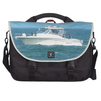 Charter Fishing Boat Laptop Commuter Bag