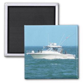 Charter Fishing Boat Fridge Magnets