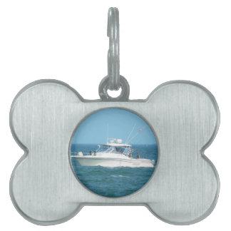Charter Fishing Boat Pet ID Tags