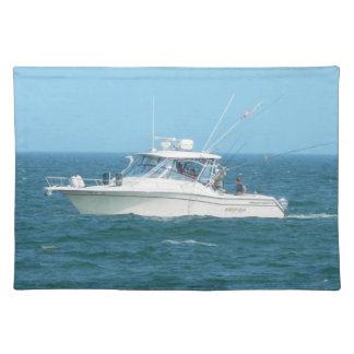 Charter Fishing Boat Place Mat