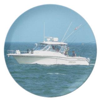 Charter Fishing Boat Plates