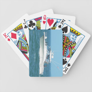 Charter Fishing Boat Poker Deck