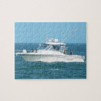 Charter Fishing Boat Puzzle
