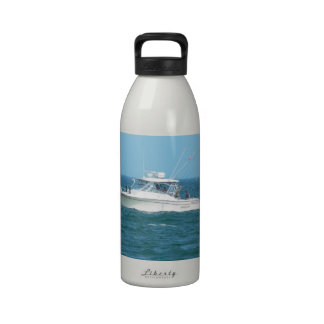 Charter Fishing Boat Water Bottles