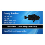 Charter Fishing Business Cards