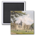 Charter House from the Play Ground, from 'History 2 Inch Square Magnet