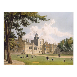 Charter House from the Play Ground, from 'History Postcard