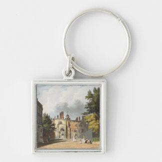 Charter House from the Square, from 'History of Ch Keychain