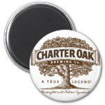Charter Oak Brewery Magnet