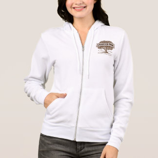 Charter Oak Women's Fleece Raglan Zip Hoodie