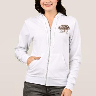 Charter Oak Women's Fleece Raglan Zip Hoodie
