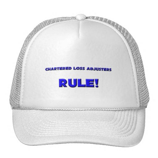 Chartered Loss Adjusters Rule! Mesh Hat